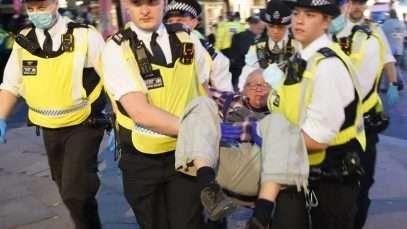 La police a arrêté 18 personnes lors des manifestations de Rising