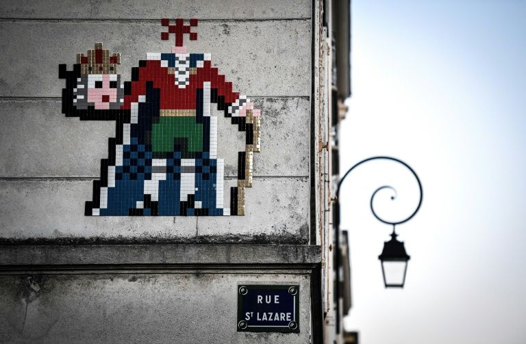 Street art historique au cœur de Versailles.