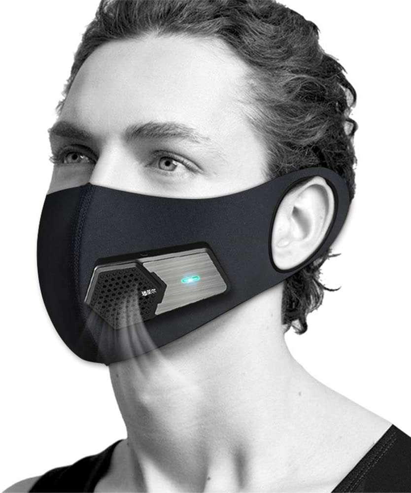 Purificateur d'air portable - Mini purificateur d'air portable - Utilisé pour la protection solaire, le cyclisme, la course, l'alpinisme, les sports