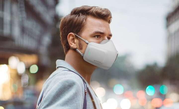 Le masque LG qui élimine virus et bactéries