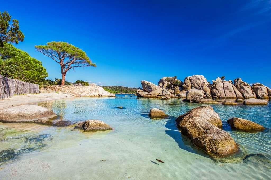 Plage de Palombaggia à Porto-Vecchio plus belles plages de France où se rendre cet été