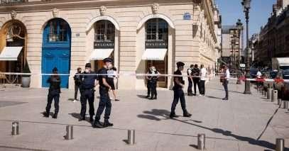 Vol à main armée dans la boutique Bulgari à Paris