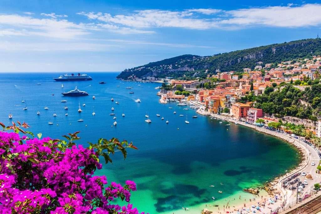 Région Provence Alpes Côte d'Azur.